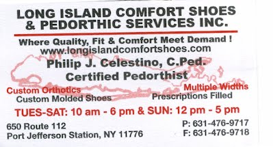 Contact Us - Long Island Comfort Shoes and Pedorthic Services